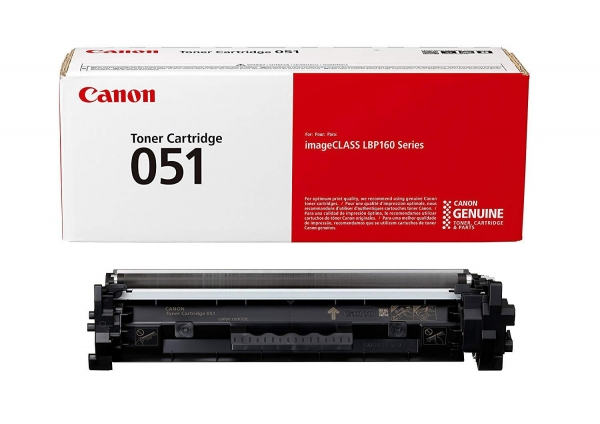 CANON CRG051 TONER CARTRIDGE BLACK 0