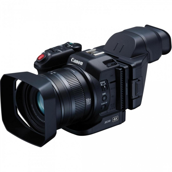 "Camera video Canon XC-10 Camcorder, 4K, 1"" CMOS Sensor,13.36 MP, zoom optic 10 0"