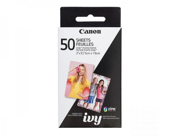 CANON ZINK PAPER FOR ZOEMINI 50 PCS 0
