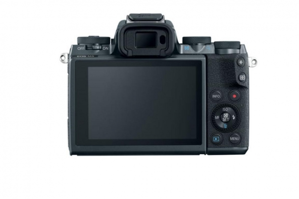 Aparat foto Mirrorless Canon EOS M5 24.2 MP, body, negru 2