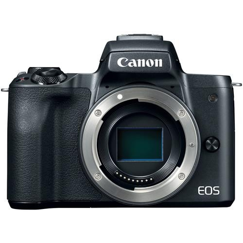 "Camera foto Canon EOS M50 Black body, 24.1 MP, DIGIC 8, ecran 3"" LCD touchscreen 0"