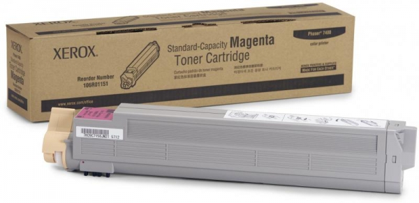XEROX 106R01151 MAGENTA TONER CARTRIDGE 0