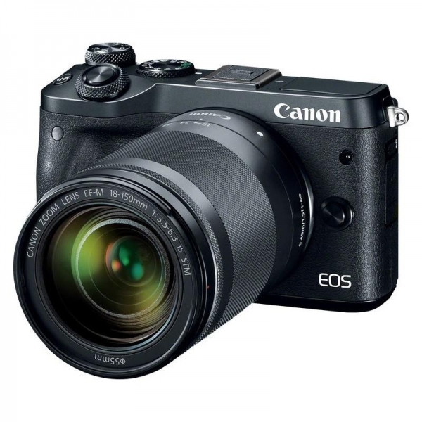 Camera foto Canon EOS M6 EF-M 18-150mm IS STM, 24.2Mp 0
