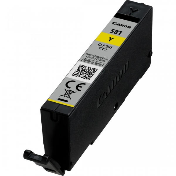 CANON CLI-581Y YELLOW INKJET CARTRIDGE 0