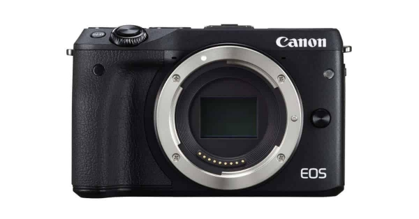 Aparat foto Mirrorless Canon EOS M5 24.2 MP, body, negru 0