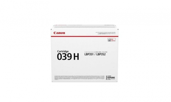CANON CRG039H TONER CARTRIDGE BLACK 0