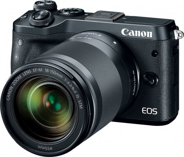 Camera foto Canon EOS M6 EF-M 18-150mm IS STM, 24.2Mp 4