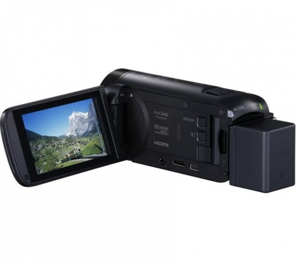 Camera video Canon Legria HF R88 Black, Full HD 1920x1080 4