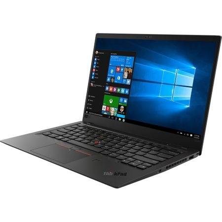 "Laptop ultraportabil Lenovo ThinkPad X1 Carbon 6th cu procesor Intel® Core™ i5-8250U pana la 3.40 GHz, Kaby Lake R, 14"", Full HD, IPS, 8GB, 512GB SSD, Intel® UHD Graphics 620, Microsoft Windows 10 Pro 2"