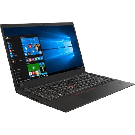 "Laptop ultraportabil Lenovo ThinkPad X1 Carbon 6th cu procesor Intel® Core™ i5-8250U pana la 3.40 GHz, Kaby Lake R, 14"", Full HD, IPS, 8GB, 512GB SSD, Intel® UHD Graphics 620, Microsoft Windows 10 Pro 1"