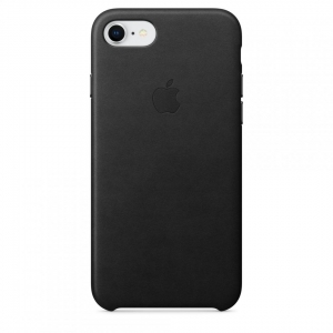 Apple iPhone 8/7 Leather Case - Black0