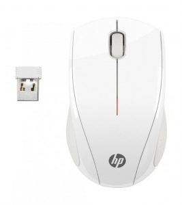 HP Wireless Mouse X3000 Blizzard White0