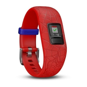 FITNESS WRISTB VIVOFIT JR2 SPIDERMAN RED1
