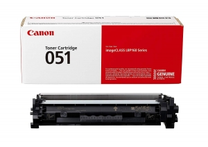 CANON CRG051 TONER CARTRIDGE BLACK0