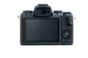 Aparat foto Mirrorless Canon EOS M5 24.2 MP, body, negru2