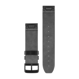 GARMIN 22mm QuickFit Band-BLK LEATHER1