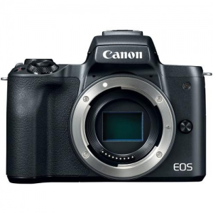 "Camera foto Canon EOS M50 Black body, 24.1 MP, DIGIC 8, ecran 3"" LCD touchscreen0"