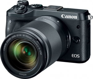 Camera foto Canon EOS M6 EF-M 18-150mm IS STM, 24.2Mp4