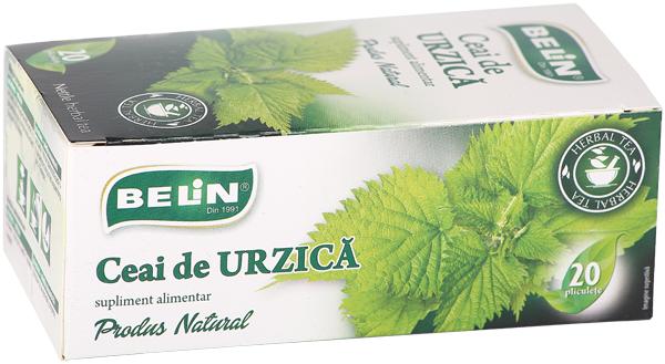 Ceai de urzica 20pl , 36gr, + 1 cutie ceai Verde cu ghimbir 30% GRATUIT 0