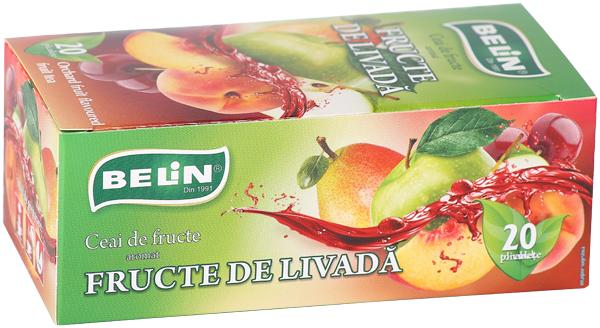 Ceai fructe de livada 20pl, 40gr, + 1 cutie ceai Verde cu ghimbir 30% GRATUIT 0