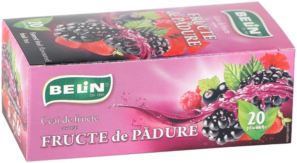Ceai fructe de padure 20 pl, 40 gr 0