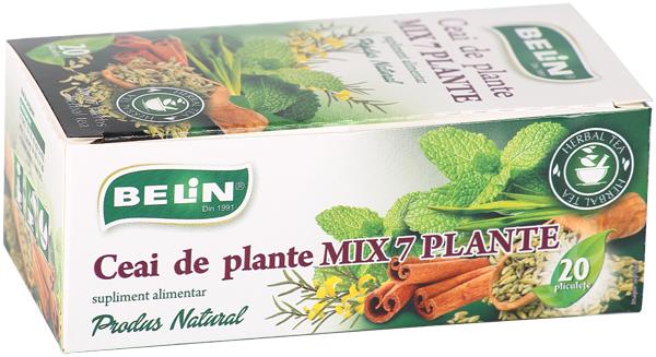 Ceai - mix 7 plante 20 pl, 36 gr 0