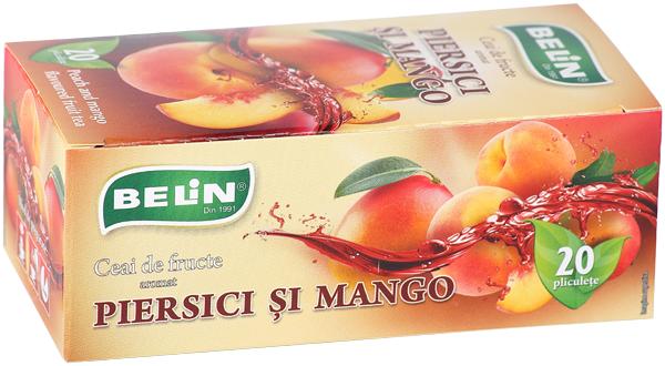 Ceai piersici si mango 20pl, 40gr, + 1 cutie ceai Macese si ananas GRATUIT 0