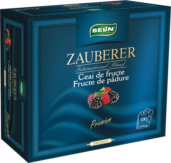 Ceai Zauberer fructe de padure snur si supraplic 100 pl, 200 gr [0]