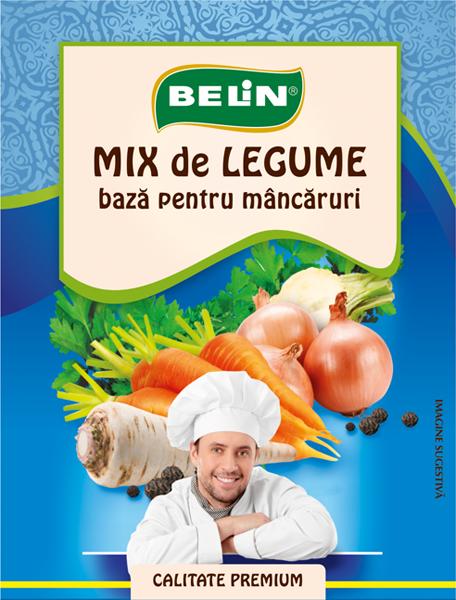 Mix legume- baza pt. mâncăruri Belin 70g 0