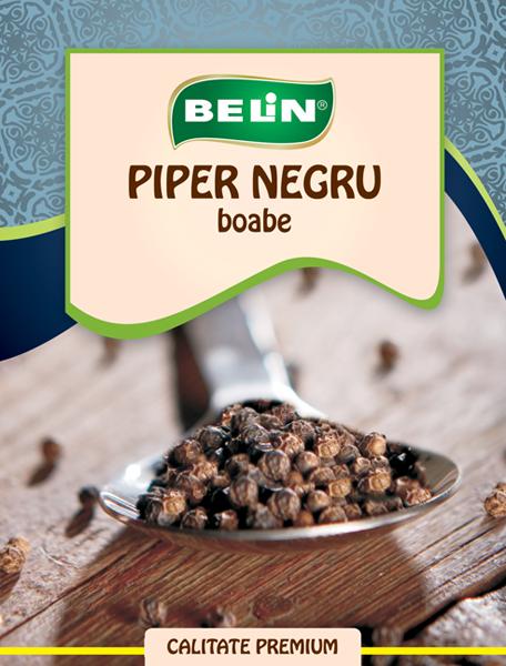 Piper negru boabe Belin 12g 0