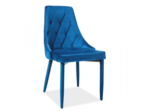Scaun Gerard Velvet Albastru [0]