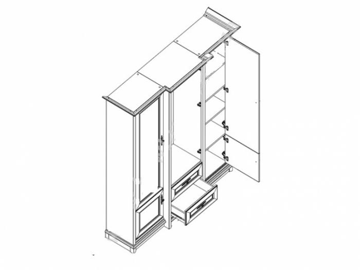 Dulap Sonata 3D2S [1]