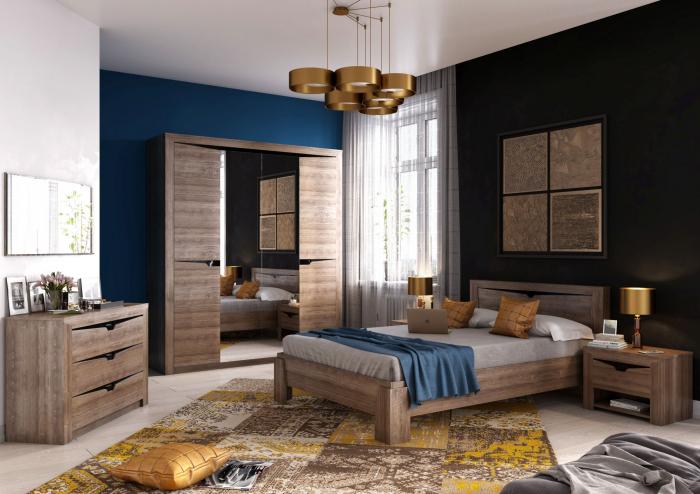 Dormitor Sorento Stejar Sterling [0]
