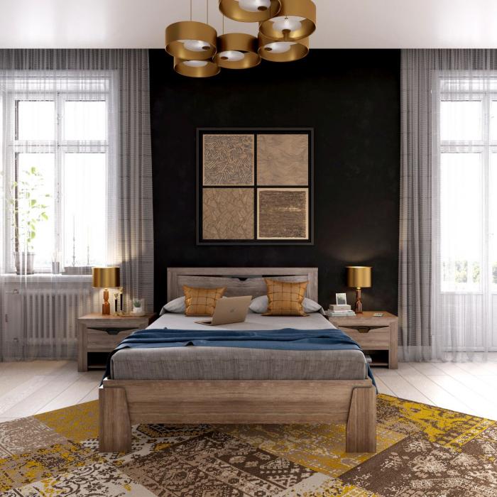 Dormitor Sorento Stejar Sterling [6]