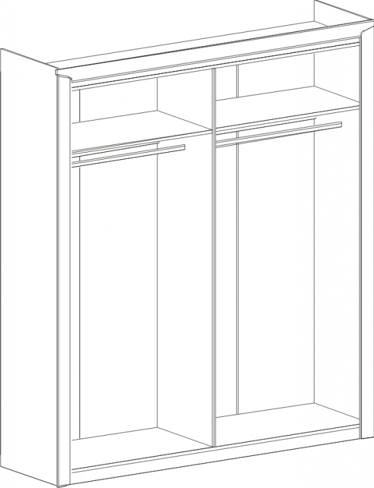 Dormitor Sorento Stejar Sterling [3]