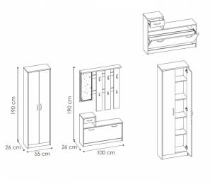 Garderoba Iza [3]