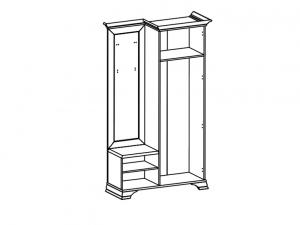 Idento Garderoba PPK/110 P [1]