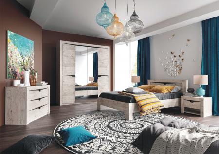 Dormitor Sorento Stejar Bonifaciy [0]