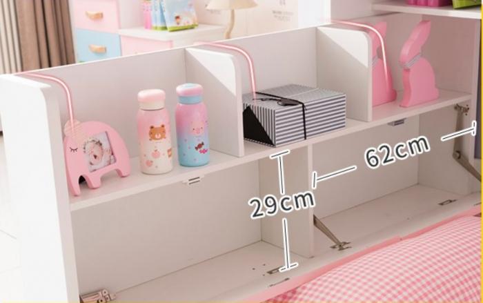 Set mobilier camera copii pat cu dulap 5