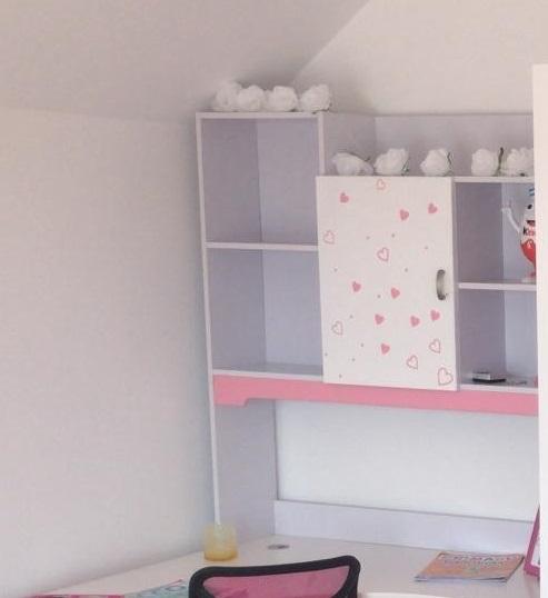 Birou cu  bibliotecă  cameră fete [3]