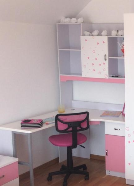 Birou cu  bibliotecă  cameră fete [2]