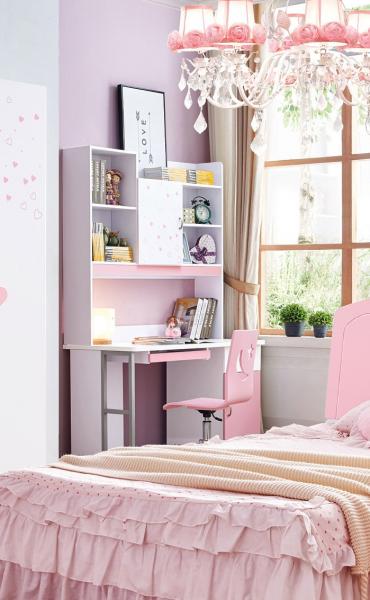 Birou cu  bibliotecă  cameră fete [0]