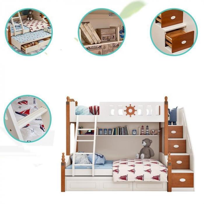 Paturi supraetajate dormitor copii [7]