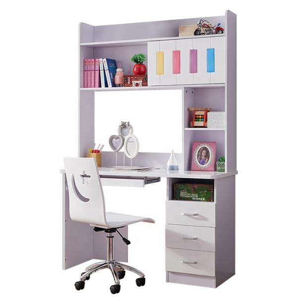 Set mobilier Piano din MDF pentru camera copii 4 piese: pat 120 x 190cm, noptiera, dulap 3 usi, birou -cod 8860 9