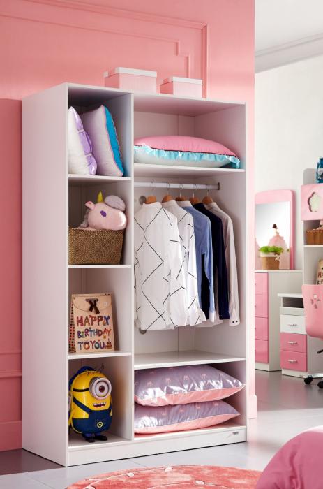 Set mobilier camera copii Dasy: 4 piese 2