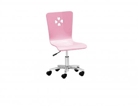 Birou  colt cu  scaun din MDF Princess pentru camera copii cod 8862BC5