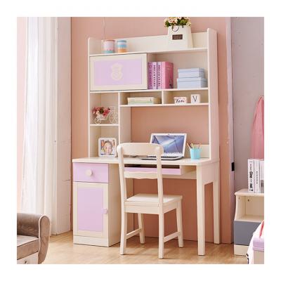 Set mobilier Aurora din MDF si lemn masiv stejar pentru camera copii 4 piese: pat 120 x 190cm, noptiera, dulap 3 usi, birou -cod 89207