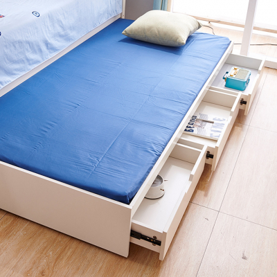 Set mobilier Solis din MDF si lemn masiv stejar pentru camera copii 4 piese: pat 120 x 190cm, noptiera, dulap 3 usi, birou -cod 8915 [7]