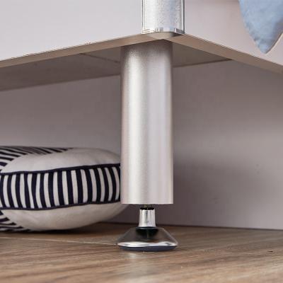 Set mobilier Rocky din MDF pentru camera copii 4 piese: pat 120/190cm cu 2 sertare depozitare, noptieră, dulap 3 usi, birou - cod 8119 [5]