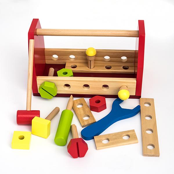 Trusa de scule din lemn-16 piese 0